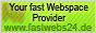 www.fastwebs24.de Your fast Webspace Provider and more